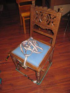 Réparation de chaise
